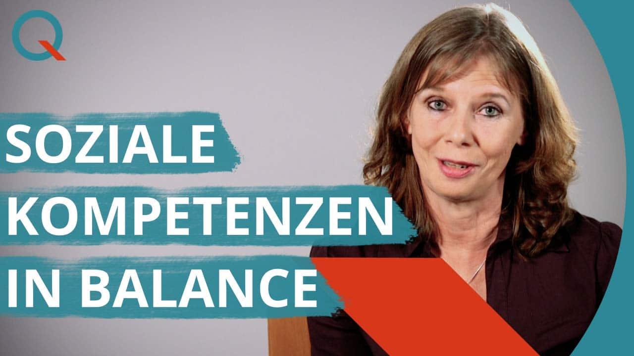 Soziale Kompetenzen in Balance