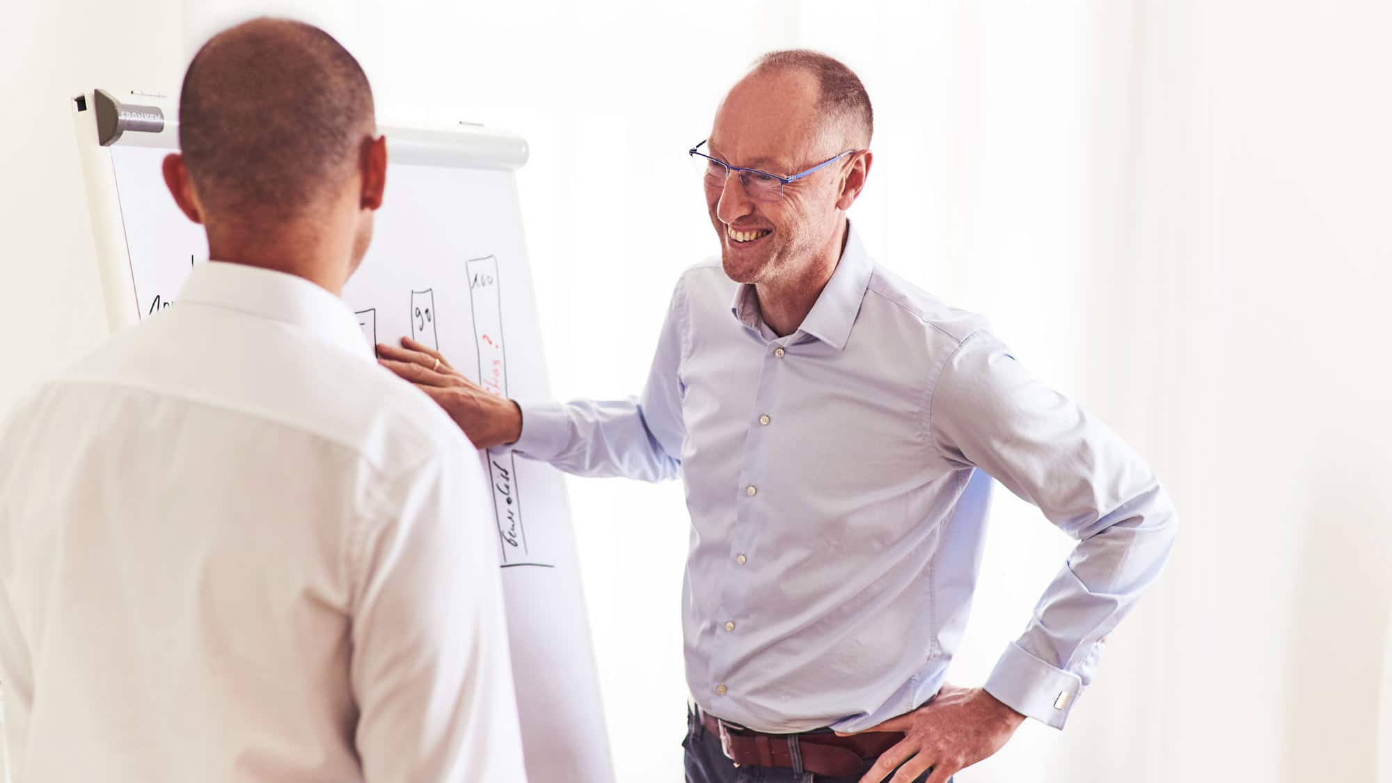 INQUA Karriere-Coach Stefan Pinter wendet im Einzelcoaching die SWOT-Analyse an