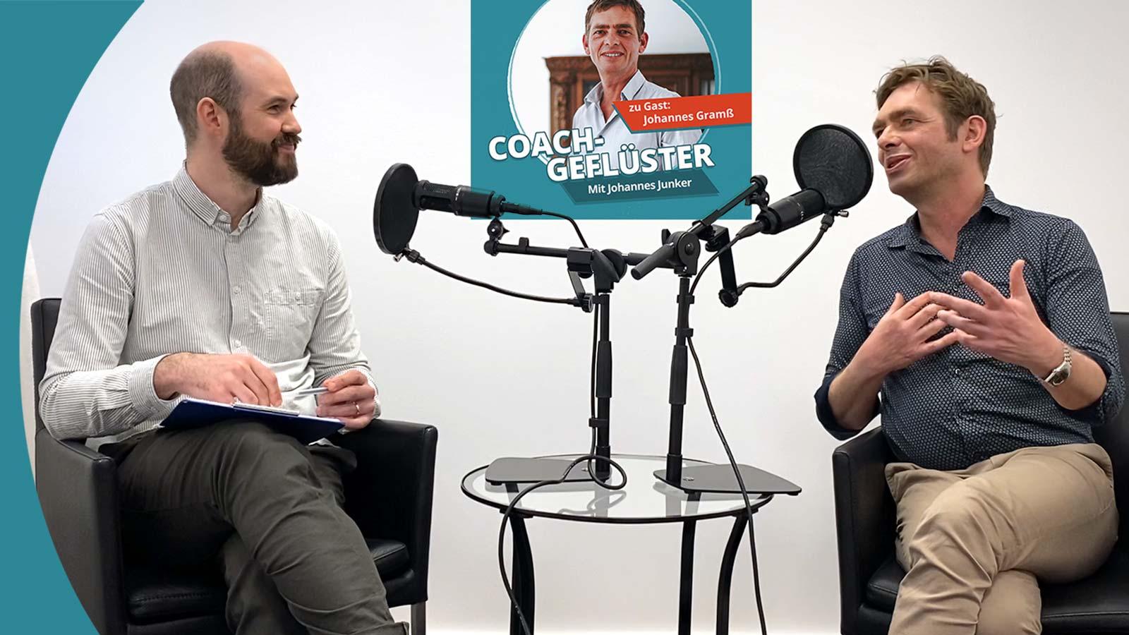 Studio-Aufzeichnung COACHGEFLÜSTER Folge 3 mit Johannes Gramß