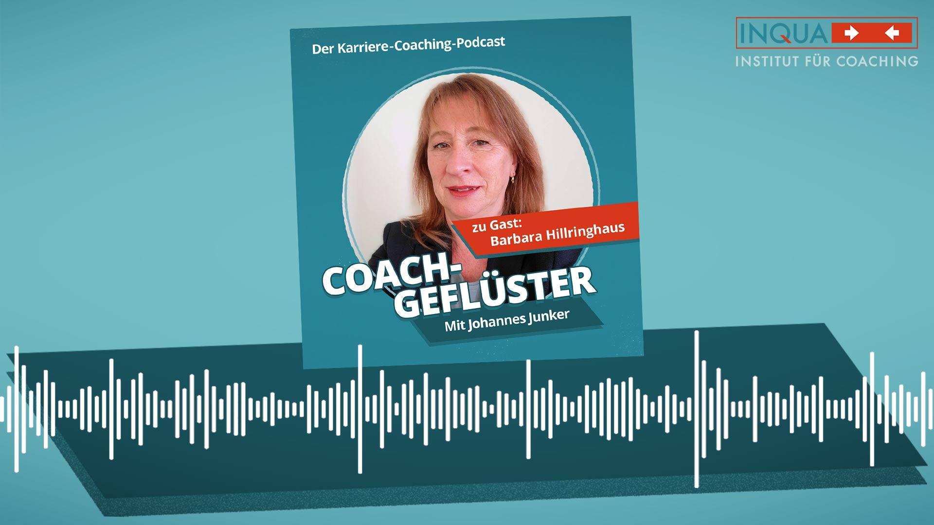 Podcast-Cover COACHGEFLÜSTER – Folge 9 mit Barbara Hillringhaus